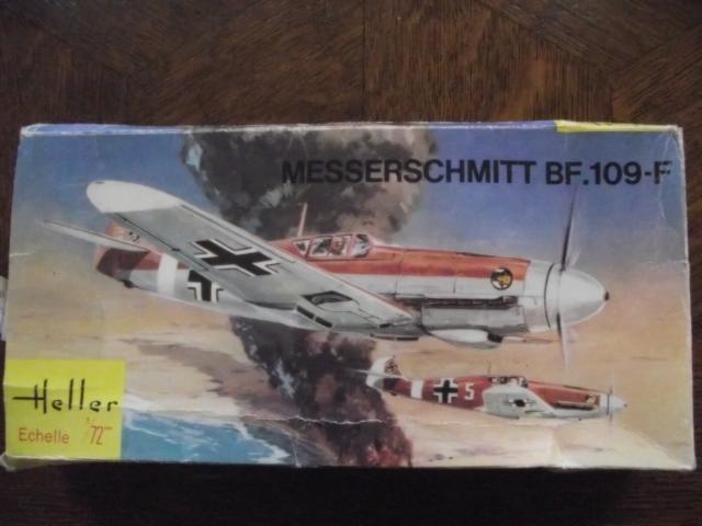 MESSERSCMITT Bf109 f2  DE HANS VON HAHN Dscf2210