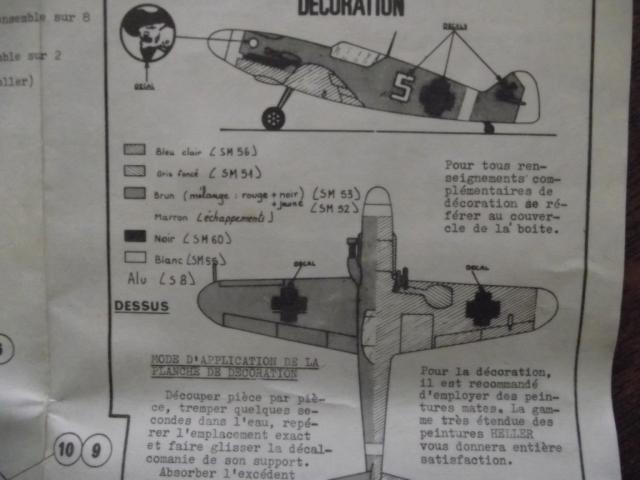 MESSERSCMITT Bf109 f2  DE HANS VON HAHN Dscf2212