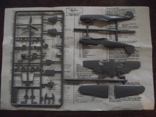 MESSERSCMITT Bf109 f2  DE HANS VON HAHN Dscf2213