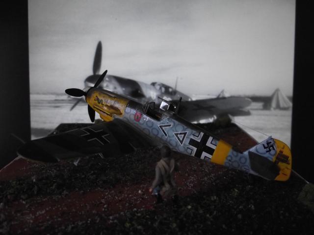 MESSERSCMITT Bf109 f2  DE HANS VON HAHN Dscf3410