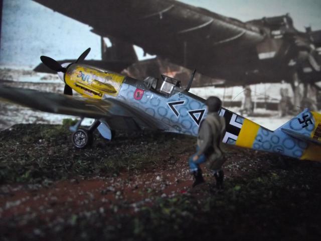 MESSERSCMITT Bf109 f2  DE HANS VON HAHN Dscf3411