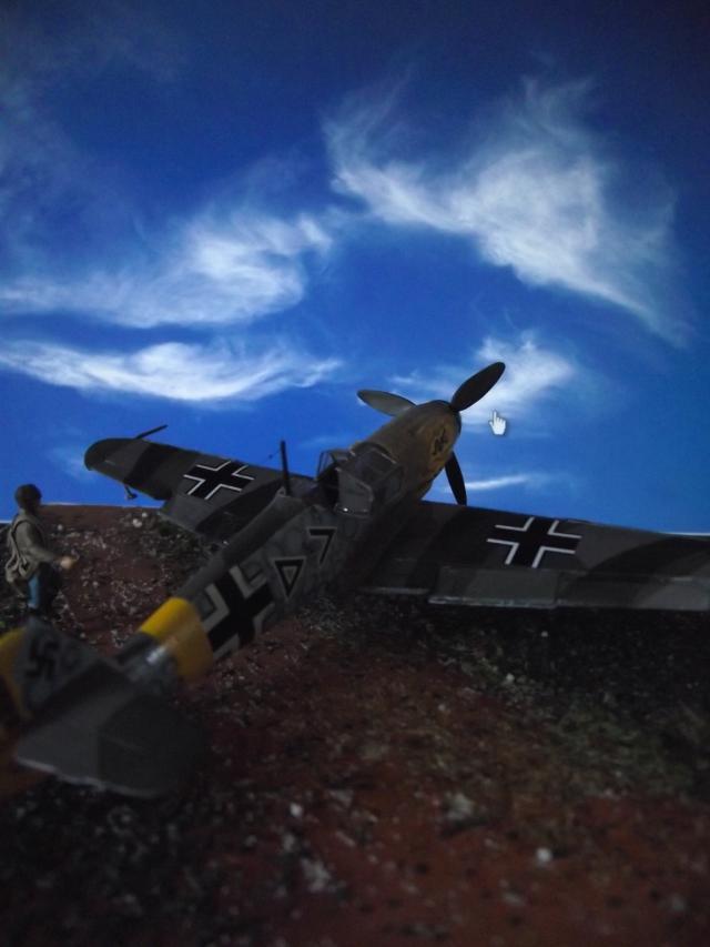 MESSERSCMITT Bf109 f2  DE HANS VON HAHN Dscf3412