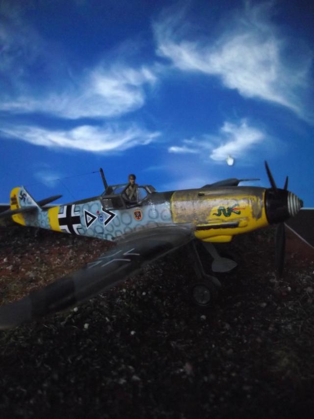 MESSERSCMITT Bf109 f2  DE HANS VON HAHN Dscf3414
