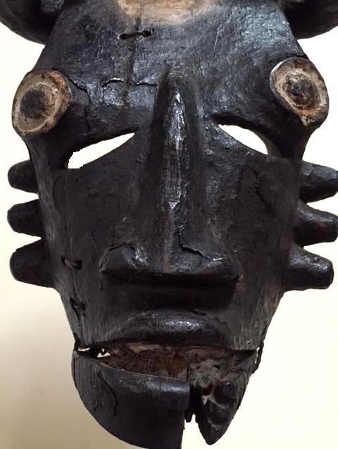 Ogoni (Kana) people, Karipko Mask, Niger Delta, Nigeria Aq11
