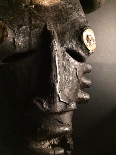 Ogoni (Kana) people, Karipko Mask, Niger Delta, Nigeria Iou10