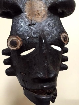 Ogoni (Kana) people, Karipko Mask, Niger Delta, Nigeria Vc11