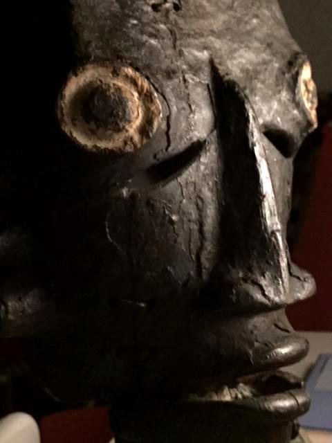 Ogoni (Kana) people, Karipko Mask, Niger Delta, Nigeria W10