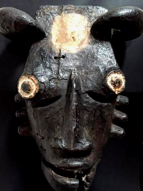 Ogoni (Kana) people, Karipko Mask, Niger Delta, Nigeria Xs10