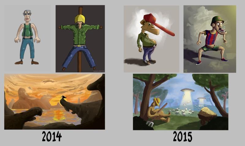 [inspi] Timeline - vos vieux dessins - Page 3 Progre10