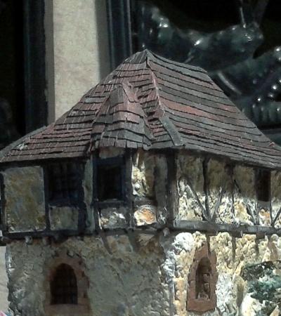 Die alte Herberge. Ein kleines Diorama in 1:100 - Seite 9 Erkera10