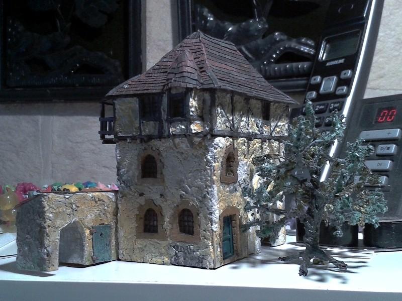 Die alte Herberge. Ein kleines Diorama in 1:100 - Seite 8 Flora113