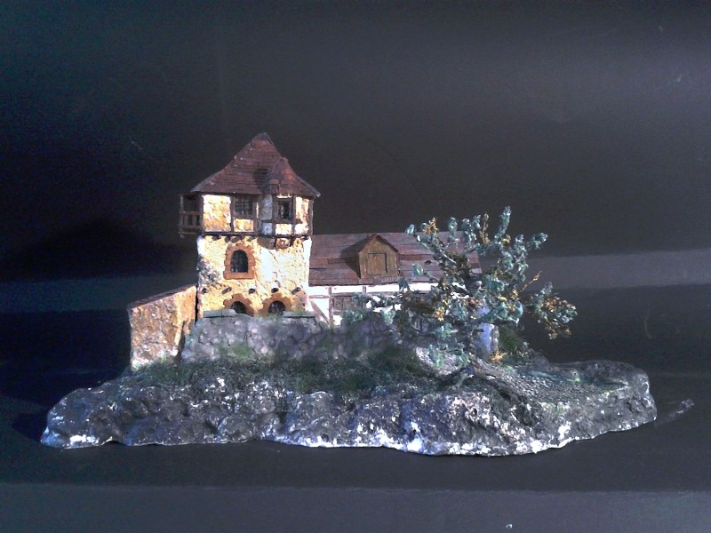 Die alte Herberge. Ein kleines Diorama in 1:100 - Seite 8 Flora115