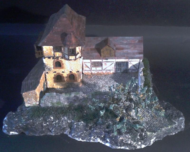 Die alte Herberge. Ein kleines Diorama in 1:100 - Seite 8 Flora116