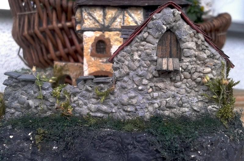 Die alte Herberge. Ein kleines Diorama in 1:100 - Seite 8 Mauer012