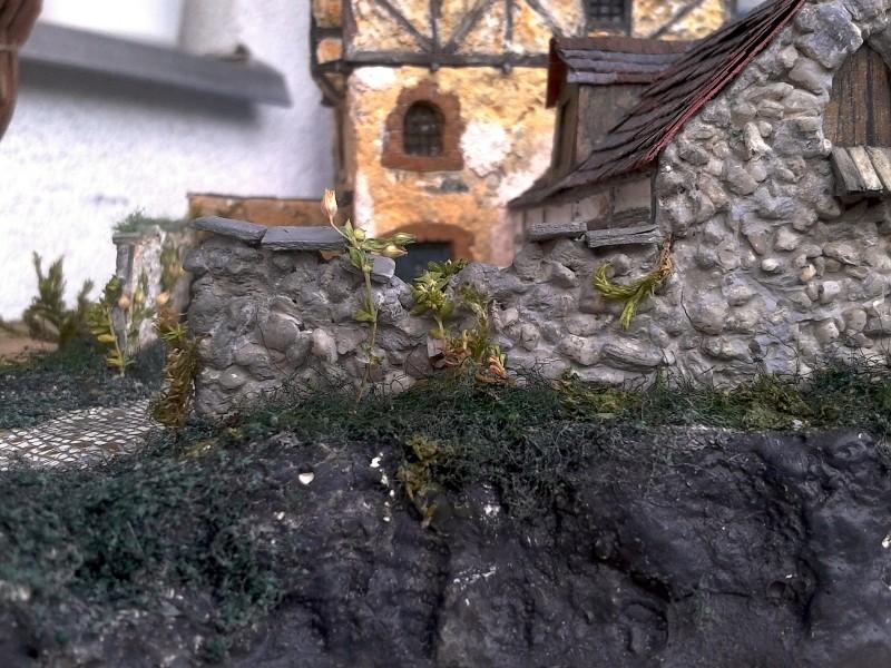 Die alte Herberge. Ein kleines Diorama in 1:100 - Seite 8 Mauer014