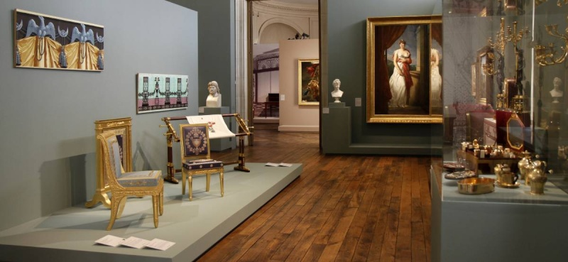 Compiegne, exposition Napoleon Ier et la légende des arts  1-expo10