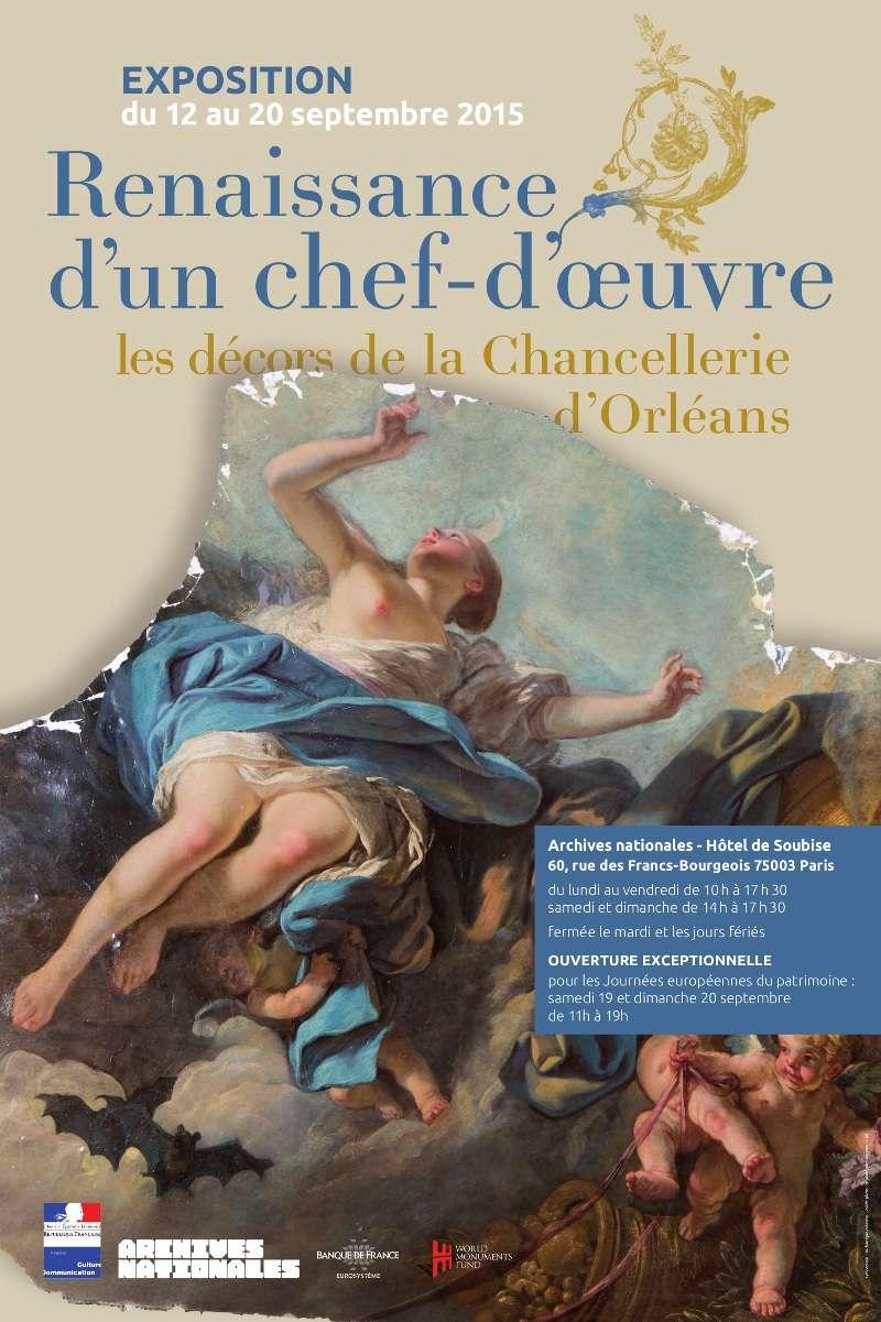 Expo. Archives nat. Les décors de la Chancellerie d'Orléans 348b7810