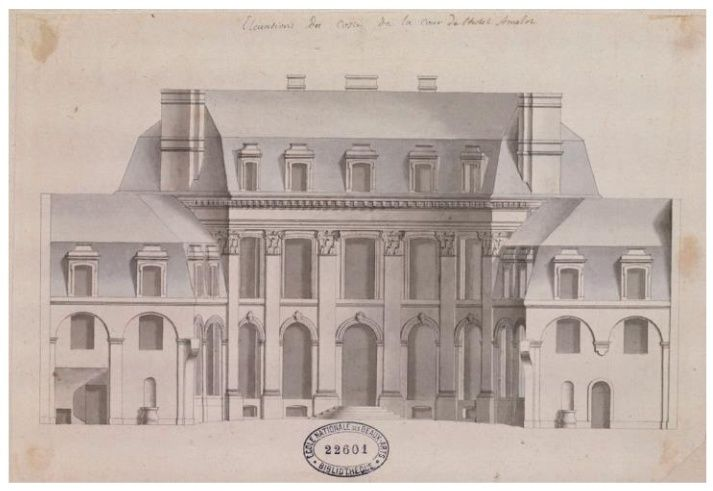 """Beaux-Arts de Paris, expo : """"Hôtels particuliers à Paris"""" Amelot10"""