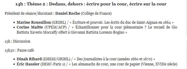 Cultures écrites à la Cour de France / Archiver la Cour Cultur11