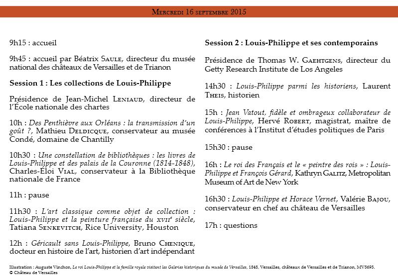 """CRCV Journées d'études """"Louis-Philippe"""" J_ytud10"""