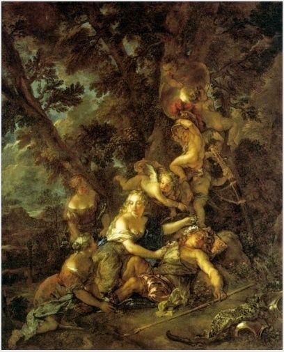 Les Amours des dieux Charles de La Fosse à Nantes Renaud10