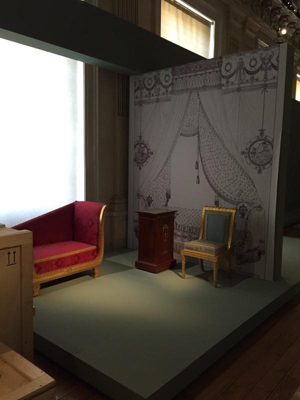 Compiegne, exposition Napoleon Ier et la légende des arts  Somno_10