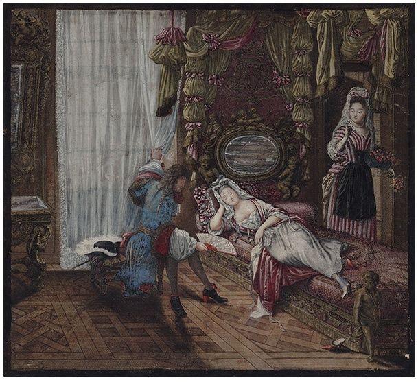 Héritage de Louis XIV dans l'histoire de la mode & textiles Versio10