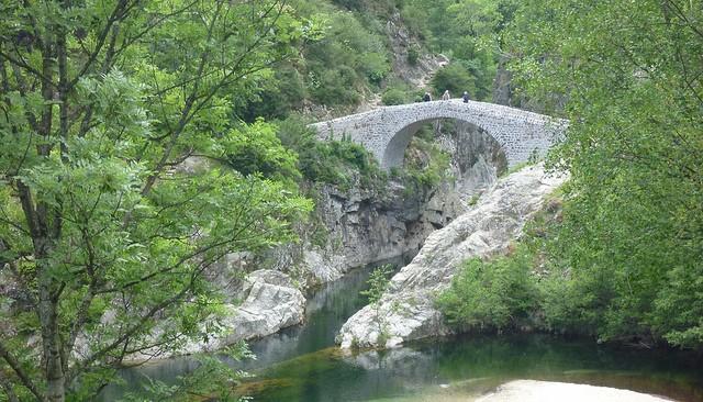 le pont du diable en Ardèche Diable10