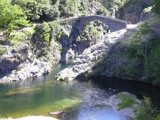 le pont du diable en Ardèche Diable12