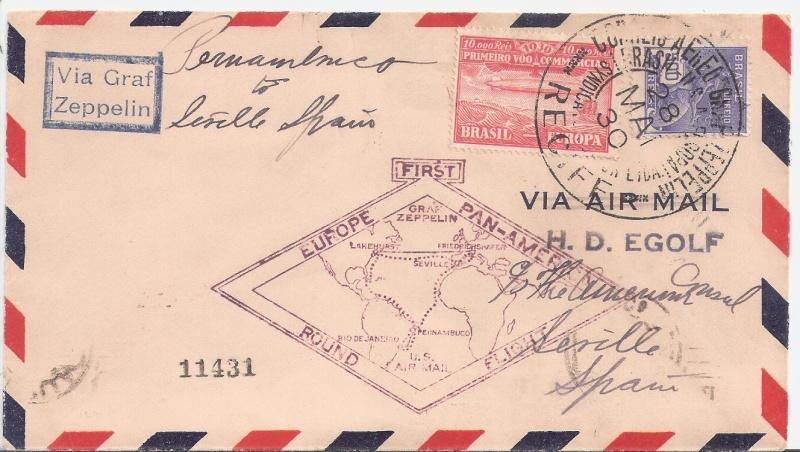 nach - Südamerikafahrt 1930, Post nach Sevilla - Seite 2 Egolf_10