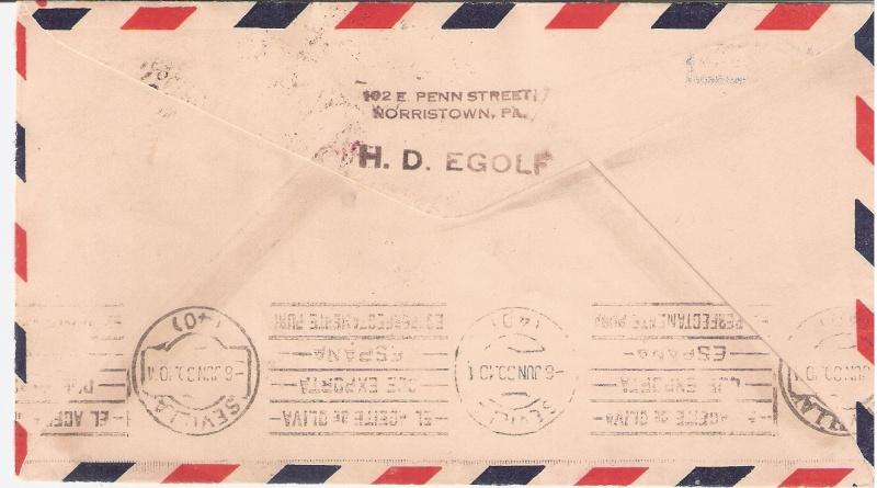 nach - Südamerikafahrt 1930, Post nach Sevilla - Seite 2 Egolf_11