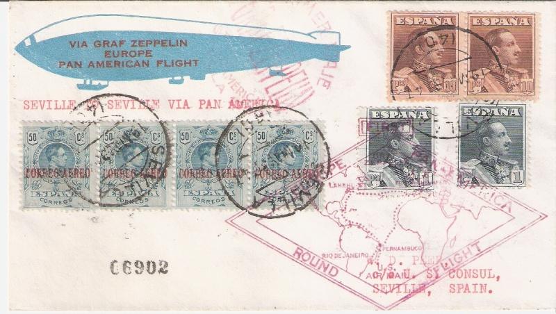 nach - Südamerikafahrt 1930, Post nach Sevilla - Seite 2 Peer_a10