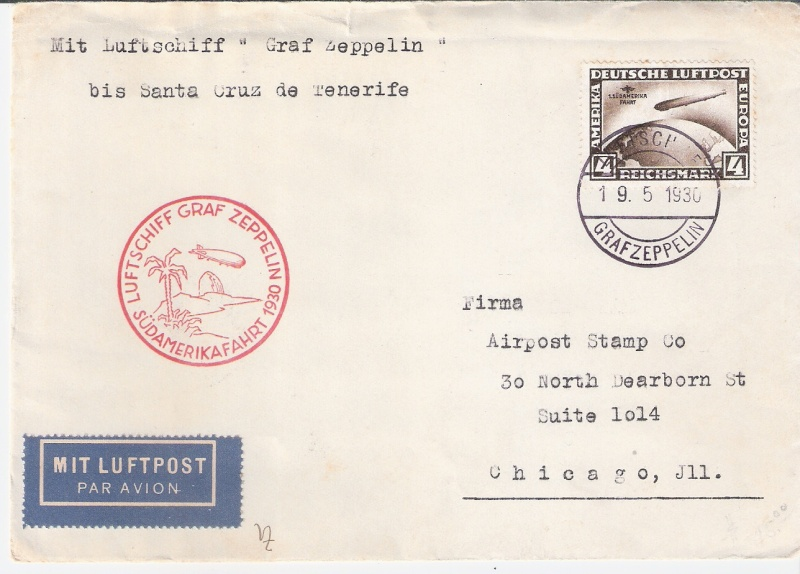 nach - Südamerikafahrt 1930, Post nach Praia (Kapverdische Inseln) Praia_10