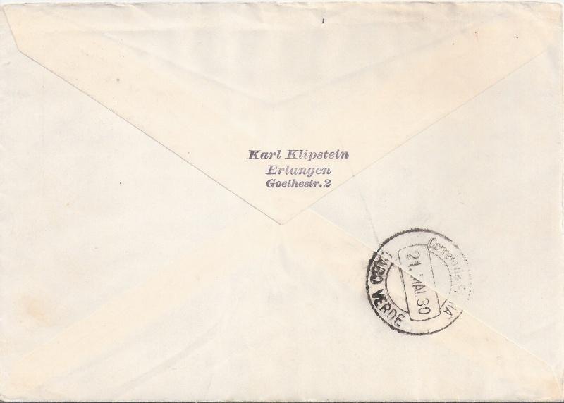 Südamerikafahrt 1930, Post nach Praia (Kapverdische Inseln) Praia_11