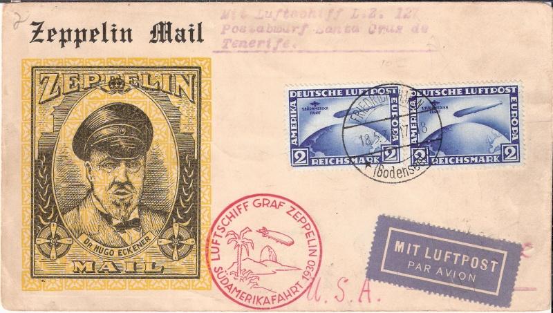 nach - Südamerikafahrt 1930, Post nach Praia (Kapverdische Inseln) Scanne11