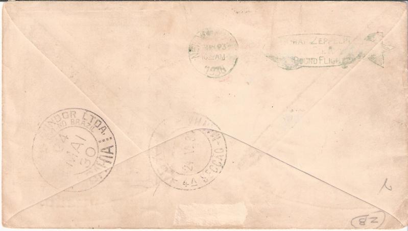 nach - Südamerikafahrt 1930, Post nach Praia (Kapverdische Inseln) Scanne12
