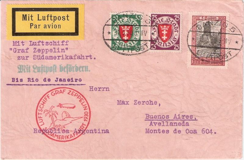 nach - Südamerikafahrt 1930, Post nach Rio de Janeiro - Seite 2 Sieger10