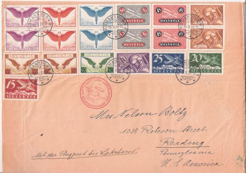 nach - Südamerikafahrt 1930, Post nach Lakehurst - Seite 4 Zwicky10