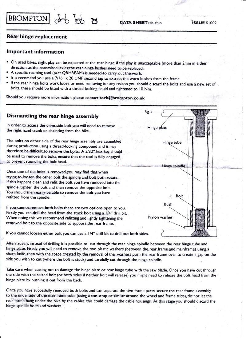 Triangle arrière : remplacement de l'axe et des paliers - Page 2 Brompt10