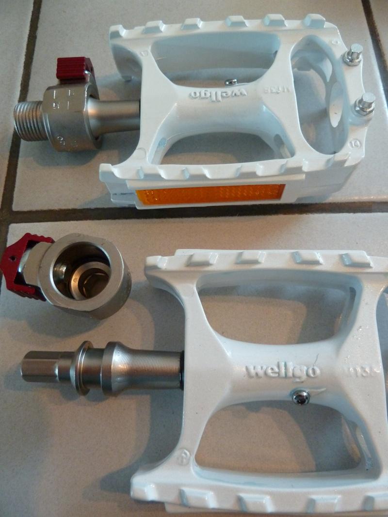 Pédales amovibles Wellgo P1090611