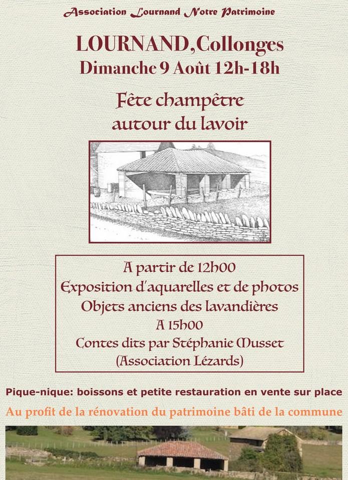 Fête champêtre lavoir de Collonges Lournand Dimanche 9 Août 2015 1_copi18
