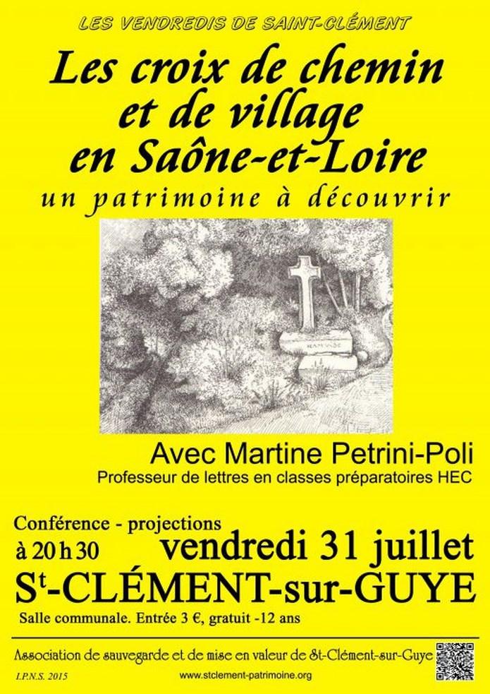 Conférence de Martine Pétrini-Poli à St Clément-sur-Guye 31/07/2015 Confer10