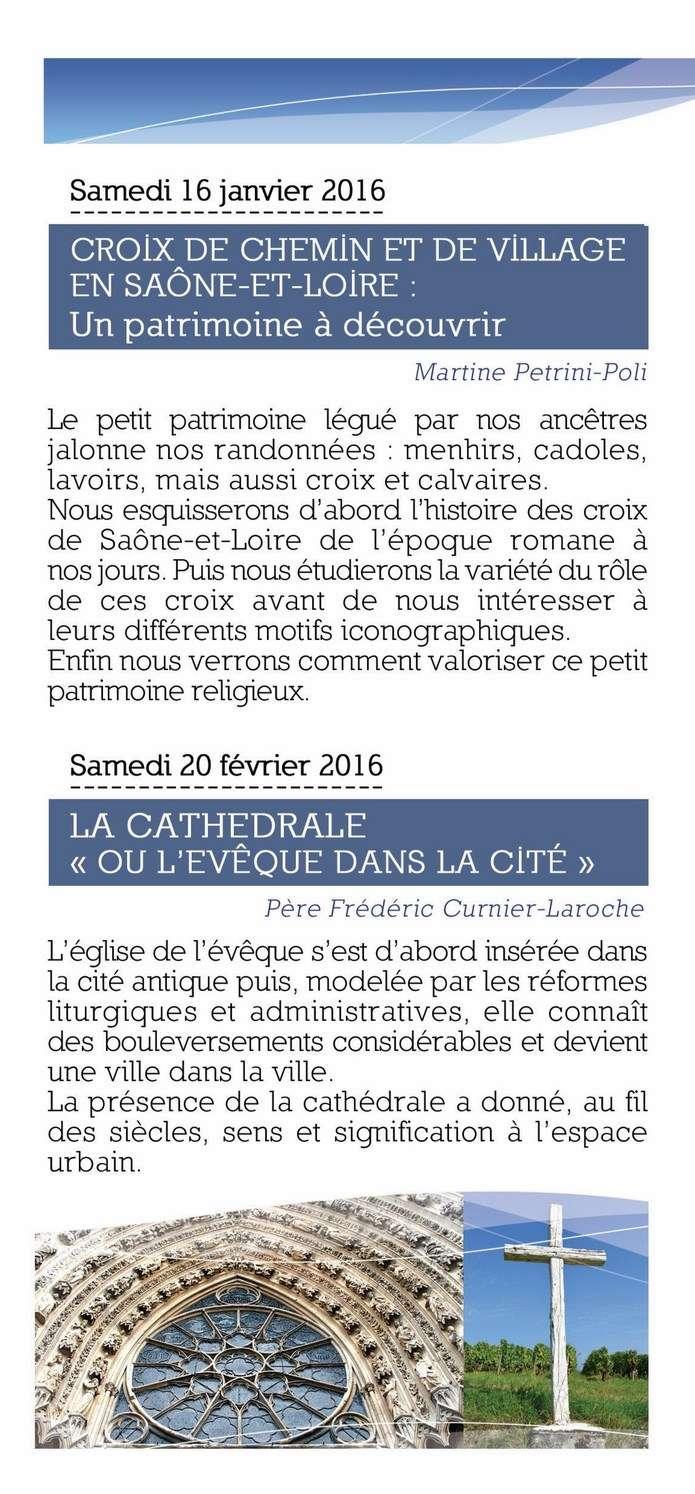 Pastorale du Tourisme Saône et Loire 2015  2016 Eclats12