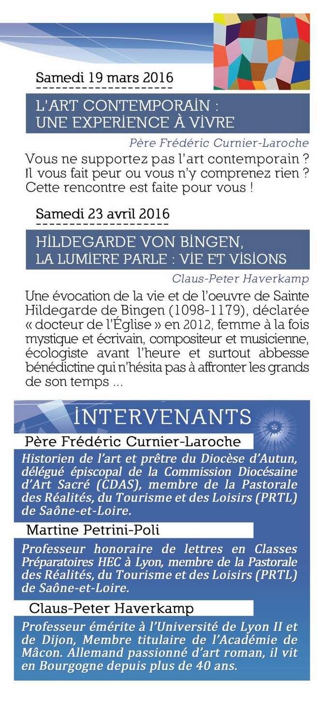 Pastorale du Tourisme Saône et Loire 2015  2016 Eclats13