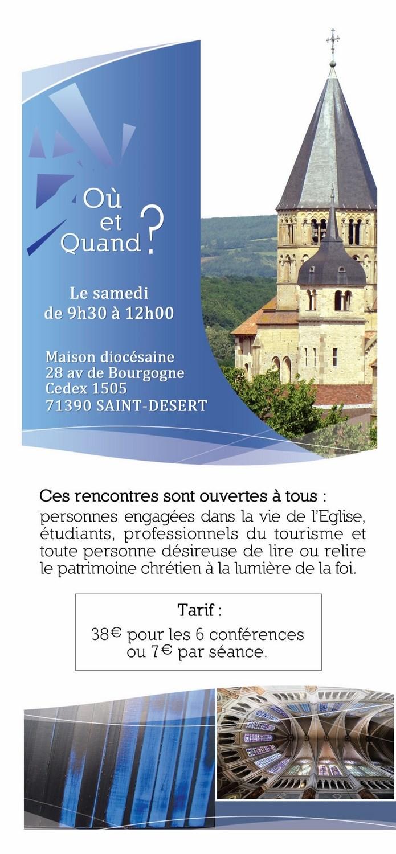 Pastorale du Tourisme Saône et Loire 2015  2016 Eclats14