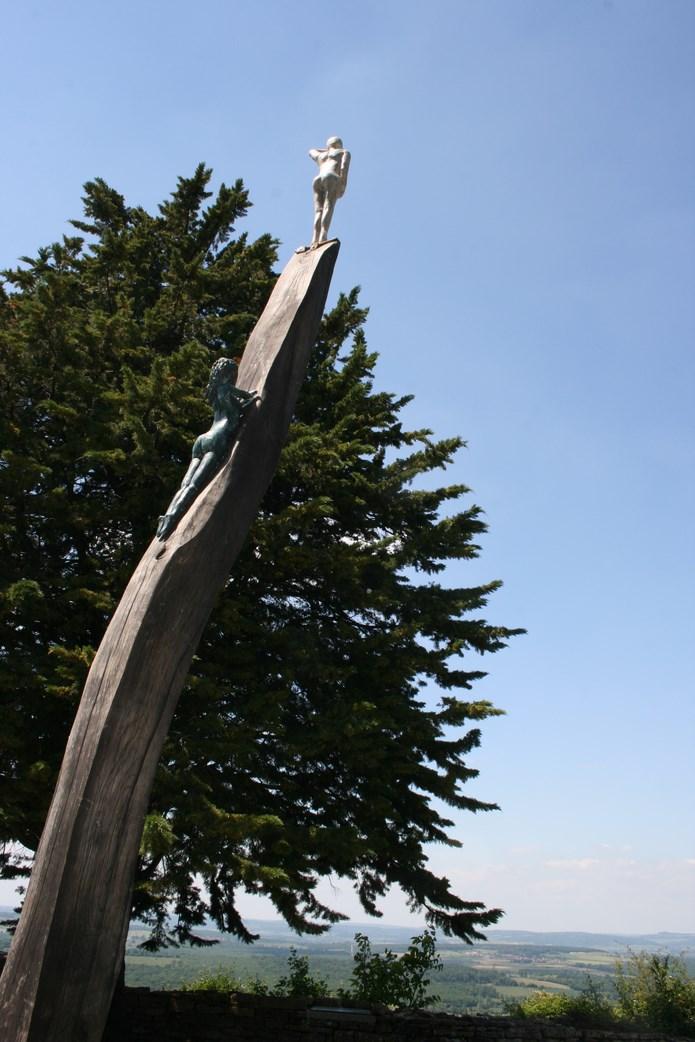Inauguration des sentiers de la sculpture 2015 à Brancion - mercredi 17 juin à 11 heures Img_0025
