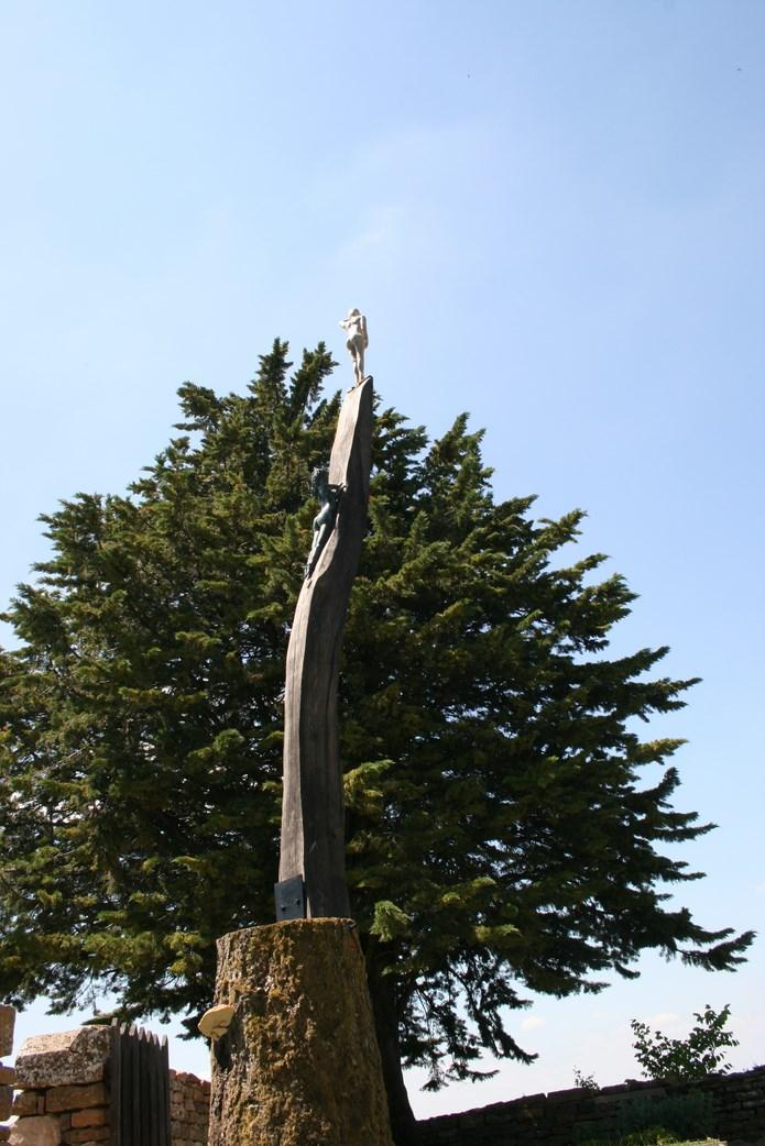 Inauguration des sentiers de la sculpture 2015 à Brancion - mercredi 17 juin à 11 heures Img_0030