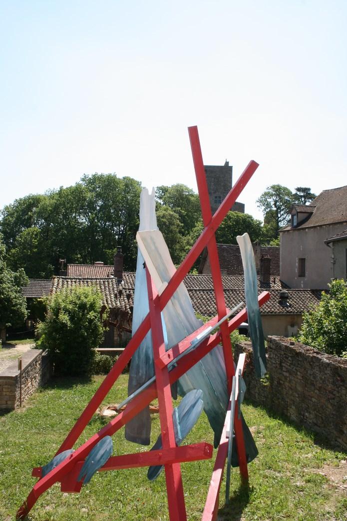Inauguration des sentiers de la sculpture 2015 à Brancion - mercredi 17 juin à 11 heures Img_9921