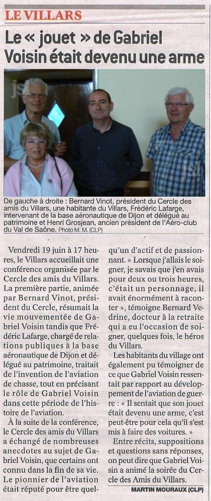 Le jouet de Gabriel Voisin était devenu une arme , Vendredi 19 juin à 17 heures, le Villars  Les_am12