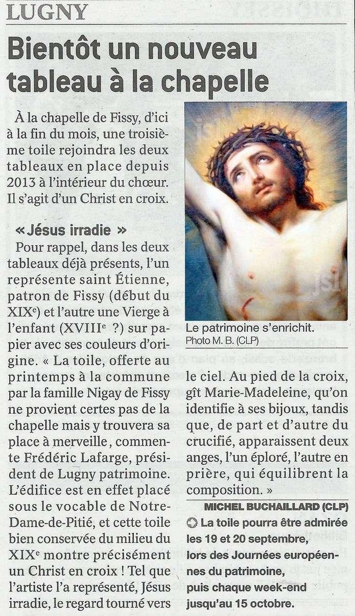 LUGNY :  Bientôt un nouveau tableau à la chapelle Lugny_17